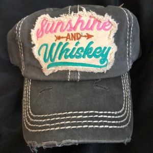 Sunshine and Whiskey ball cap